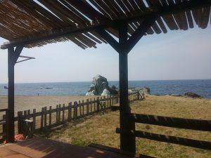 越前海岸の景色